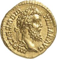 Nr. 8836: RÖMISCHE KAISERZEIT. Didius Iulianus. Aureus. Aus Sammlung Montagu, aus Auktion Rollin & Feuardent 1896, Nr. 461. Sehr selten. Vorzüglich / Fast vorzüglich. Taxe: 35.000,- Euro. Zuschlag: 150.000,- Euro.