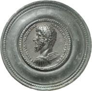 Nr. 8828: RÖMISCHE KAISERZEIT. Lucius Verus. AE-Medaillon, 164/5, Rom. Aus Auktion Kastner 4 (1973), 251. Äußerst selten. Vorzüglich. Taxe: 25.000,- Euro. Zuschlag: 44.000,- Euro.