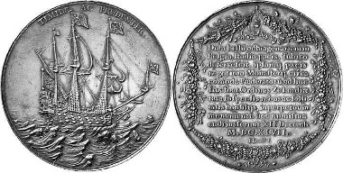 1647 medal by Jean Looff in Middelburg on the slow pace of the peace negotiations in Münster. Ex Leu Numismatik AG Auction 92 (2004), 238.