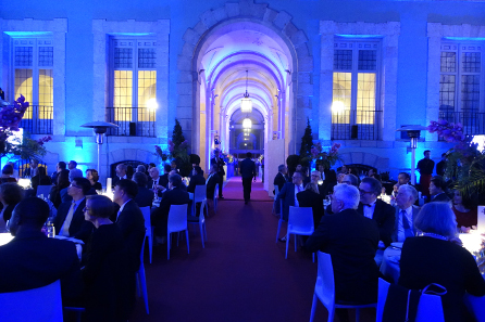 Gala dinner in the premises of the Real Academia de Bellas Artes de San Fernando. Photo: UK.