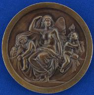Carus-Medaille der Leopoldina. Foto: Markus Scholz für die Leopoldina.