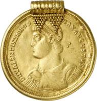 Nr. 524: RÖMISCHE KAISERZEIT. Valentinian, 364-375. Multiplum im Wert von 9 Solidi, Rom. Unikum. Unpubliziert. Sehr schön. Taxe: 75.000,- Euro.