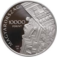 Hungary / 10,000 HUF / Silver .925 / 24 g / 37 mm / Design: Zoltán Tóth / Mintage: 5,000.
