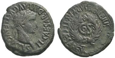233 Roman Imperial. Bilbilis in Hispania Tarraconensis. Tiberius, 14-37, with L. Aelius Seianus. As, 31. Very rare. About extremely fine. Estimate: 800 euros. Starting price: 480 euros.
