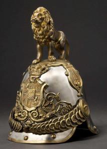 Helm M 1852 der Königlich Bayerischen Leibgarde der Hartschiere. Zuschlag: 9.000 Euro. Copyright Hermann Historica oHG 2015.