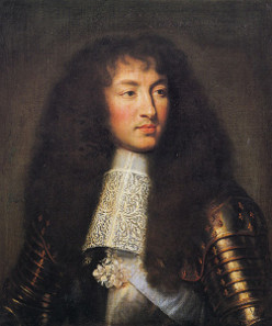 Charles Le Brun, portrait of Louis XIV, 1661. Source: Wikicommons.