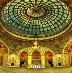 The first new coin show in downtown Chicago will take place in the famous Chicago Cultural Center on April 5-8, 2017. Photo: Rob Saker / https://creativecommons.org/licenses/by-sa/3.0/deed.de.
