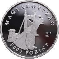 Hungary / 5,000 HUF / Silver .925 / 12.5 g / 30 mm / Design: Balazs Pelcz / Mintage: 5,000.