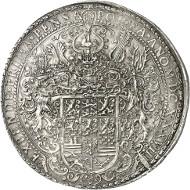 Lot 73: BRUNSWICK-WOLFENBÜTTEL. August the Younger, 1635-1666. Löser of 10 reichsthaler 1638, Zellerfeld. Very rare. Extremely fine. Estimate: 40,000,- GBP. Hammer price: 220,000.- GBP.