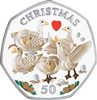 The Isle of Man's 2010 Christmas coin feature