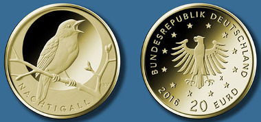 20-Euro-Goldmünze 2016