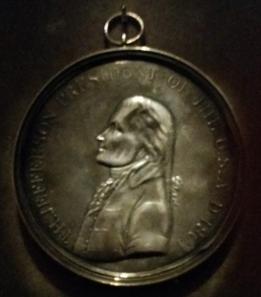 Indian Peace Medal. Image courtesy Joe Esposito.