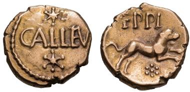 Atrebates and Regni, Eppillus. Quarter-stater.