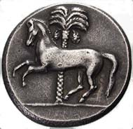 Fig. 13: Forgery of a Siculopunic tetradrachm.