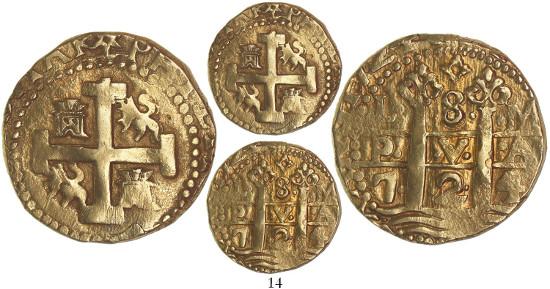 Peru. Macuquino 8 escudos, 1724. Ex Daniel Frank Sedwick, Treasure Auction 18 (2015), 14.