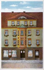 Köhler-Haus. Ansichtskarte von 1910. Quelle: Angela Graff.