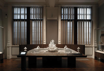 Installation image of Europe 1600-1815 Galleries. © Victoria and Albert Museum, London, photograph by David Grandorge.