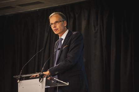 Rüdiger Voss, European Commission, Directorate-General Economic and Financial Affairs. Photograph: Reconnaissance.