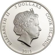 Cook Islands / 5 Dollar / Silber .999 / 1 Unze / 38,61 mm / Auflage: 999.