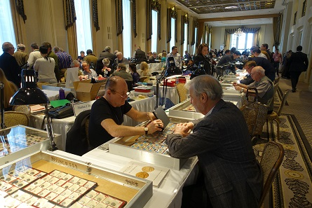 Two patriarchs in the American coin trade with ancient coins: Harlan J. Berk from Chicago (left) and Frank Kovacs from San Francisco (right).