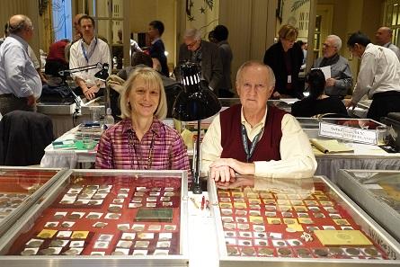 Peggy und Jim Elmen, man mag gar nicht daran denken, an wie vielen New York Internationals man sich schon mit ihnen unterhalten hat...