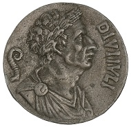 Caesar-Medaillon der Renaissance, 2. Hälfte 15. Jh., das Andrea Fulvio (um 1470-1527) und andere frühe Antiquare für ein antikes Werk hielten, HMB Inv. 1905.5215.