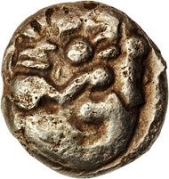 This highly esteemed unpublished Lion Stater exceeded all estimates at $21,150.