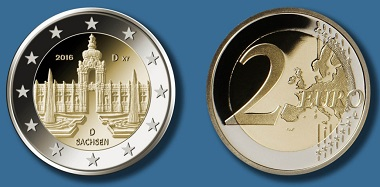 Die neue 2-Euro-Münze