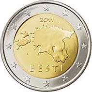 Die neuen estnischen Euros. Foto: Wikipedia.