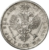 No. 3044: HAMBURG. Double taler 1694. Very rare. Very fine to extremely fine. Estimate: 10,000 euros.