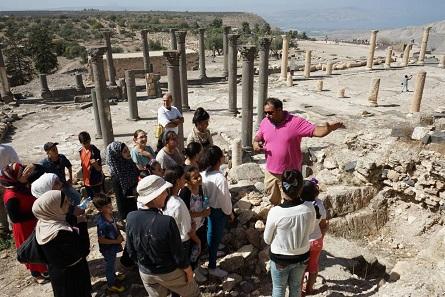 Große Teile der Aus- und Weiterbildung finden an den antiken Stätten Jordaniens statt. Foto: C. Hartl-Reiter © CC-BY-NC-ND.
