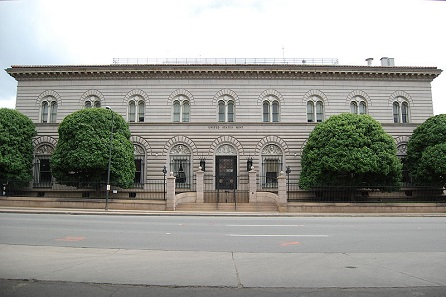 Denver United States Mint building. Photograph: RoyFocker 12 / Onetwo1 / https://creativecommons.org/licenses/by-sa/3.0/deed.en