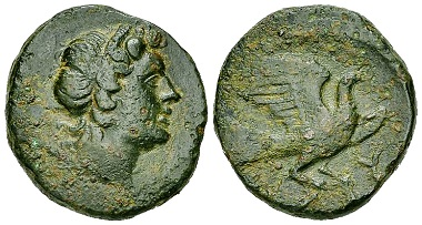 38: Kythera, island off Lakonia. Tetrachalkon, circa 100-50 BC. BCD Peloponnesos 998 (same dies). Very rare. Good very fine. Estimate: 1000/800 CHF.