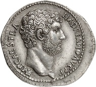 Nr. 742 - Lot 742: HADRIAN, 117-138. Cistophorus, 128-138, Nicomedia. Ex Leu Auction 18 (1977), 330 (cover piece). Rare. Extremely fine. Estimate: 5,000,- euros.