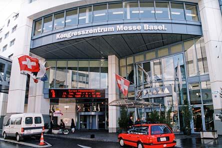 Langjähriges Zuhause der Münzenmesse Basel: Das Kongreßzentrum am Messeplatz.