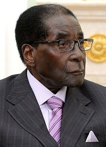 Robert Mugabe, President of Zimbabwe. Photograph: Kremlin.ru / https://creativecommons.org/licenses/by/4.0/deed.en