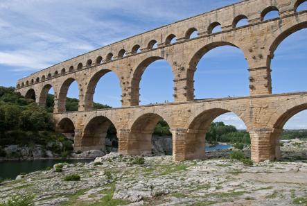Pont du Gard, Südfrankreich. Foto: Klaus Grewe.