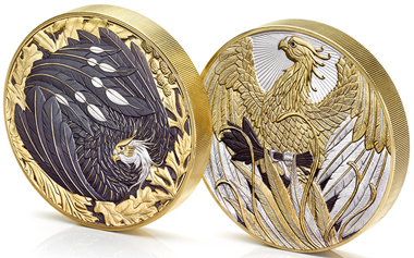The Phoenix Ascendant. Photo: The Royal Mint.