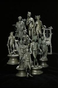 Die Statuetten aus dem Schatzfund von Weißenburg,