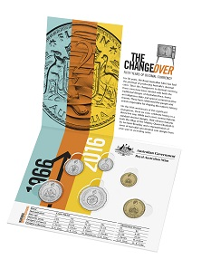 The Royal Australian Mint gives to all those who purchase a set of 50 cent pieces a free Circulating Coin Folder to keep together the coins they may collect during the year.