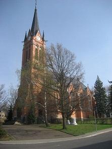 Lutherkirche Oberfrohna, eines der Wahrzeichen von Limbach-Oberfrohna.