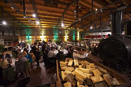 Numismatisches Großereignis und sozialer Event, das Gala-Dinner der World Money Fair.