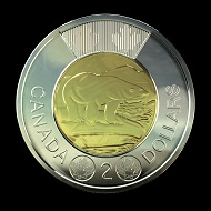 The Toonie of 2012. Photo: Royal Canadian Mint.