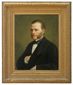 Augusto Caratti, Porträt Nicola Bottacins, 1876. MB inv. 50. © Comune di Padova/ Museo Bottacin.