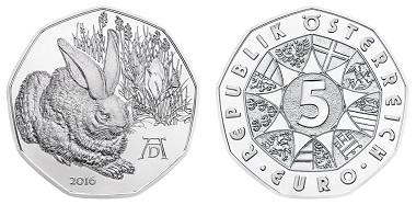 Österreich / 5 Euro / .800 Silber / 28,50 mm / 10,00 g / Design: Thomas Pesendorfer, Helmut Andexlinger / Auflage: 50.000.