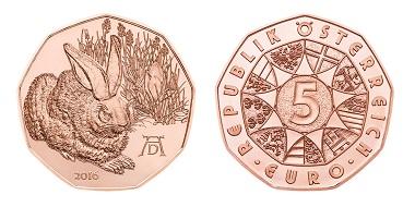 Österreich / 5 Euro / .800 Silber / 28,50 mm / 8,90 g / Design: Thomas Pesendorfer, Helmut Andexlinger / Auflage: 200.000.