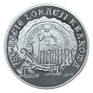 10 zlotych 2007. St. Florian's gate in Krakow. Rv. seal. Schön, p. 1679, 631.