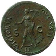 Nero. Dupondius.