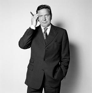 Herlinde Koelbl: Gerhard Schröder, 1998, aus der Serie