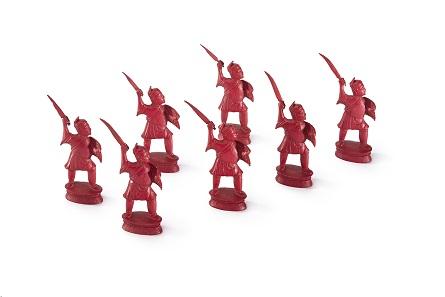 Schachspiel, Elfenbein, geschnitzt, China, 19. Jh. © Museen für Kulturgeschichte Landeshauptstadt Hannover.